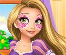 Rapunzel Yüz Boyama