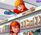 Süpermarkette Yaramazlık